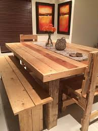 Low Cost Wooden Pallet Dining Set