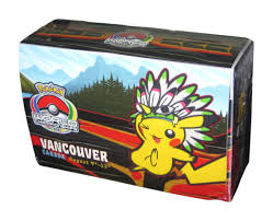 pokemon world chionships double deck box 2013 vancouver