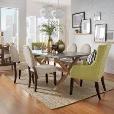 Dining Room Lighting Home Depot by Homesullivan Upton Weathered Light Oak Dining Table 405100