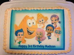 Bubble Guppies Cake Toppers by Bubble Guppies Birthday Cake 4 Best Birthday Resource Gallery