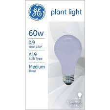 ge 60 watt a19 plant light 1 pack walmart