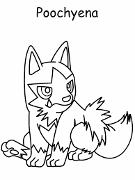 Pokemon Free Coloring Pages 256