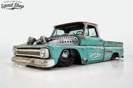 Classic Car Studio's Twin Turbo'd 1966 C10 Shop Truck