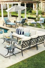 Threshold Patio Furniture Covers by Best 25 Outdoor Replacement Cushions Ideas On Pinterest