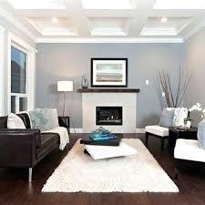 brown leather sofa wohnzimmer dekoration ideen