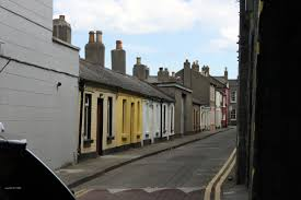 100 Dublin Street A Street With Very Old Row Houses Paula M De