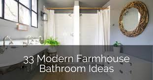 33 modern farmhouse bathroom ideas sebring design build