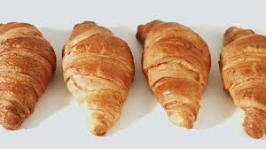 Sweet French Croissant Stock Video Footage