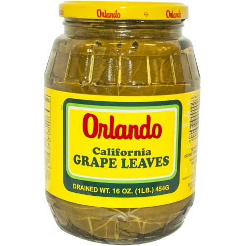 Orlando California Grape Leaves - Drained, 16oz