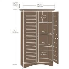Sauder Beginnings Storage Cabinet Oregon Oak by Pantry Cabinet Sauder Pantry Cabinet With Sauder Pantry Carolina