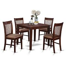 5 Piece Formal Dining Room Sets by Dining Table Set For 4