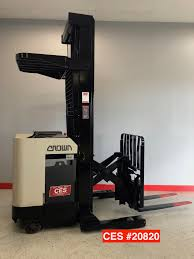 CES #20820 Crown 45RRTT Reach Forklift - Coronado Equipment Sales Various Of Crown Bt Raymond Reach Truck From 5000 Youtube Asho Designs Full Cabin For C5 Gas Forklift With Unrivalled Ergonomics And Ces 20459 20wrtt Walkie Coronado Equipment Sales Narrowaisle Rr 5200 Series User Manual 2006 Rd 5225 30 Counterbalanced Forklifts On Site Forklift Cerfication As Well Of Minnesota Inc What Its Like To Operate A Industrial All Star Refurbished Electric Double Deep Hire 35rrtt 24v Stacker 3500 Lbs 210