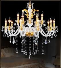 12 lights chandelier living room lighting china gold with