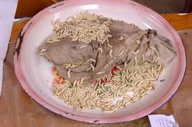 blanc dans la cuisine 8 avec au march de luang namtha sur les