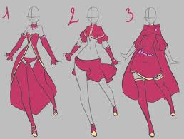 Fairy Clothes Design By Rika Dono On DeviantART II Just ClothesDrawing Anime