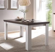 esstisch esszimmertisch tisch küchentisch siena 160x90cm pinie weiß wenge neu