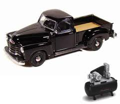 Diecast Car & Air Compressor Package - 1950 Chevy 3100 Pickup Truck ... 1956 Ford F100 Pickup Truck 124 Scale American Classic Diecast World Famous Toys Diecast Trucks F150 F 1953 Car Package Two 143 Scale 2016f250dhs Colctables Inc New 1940 Black 125 Model By First Chevrolet Chevy 2017 Dodge Ram 1500 Mopar Offroad Edition Hobby 1992 454 Ss Off Road Danbury Mint For 1973 Ranger Red White 118
