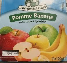 pomme banane le berger des fruits