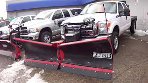 100 Plow Trucks For Sale 2012 D F350 4X4 NEW Hiniker V 1 Owner Cars