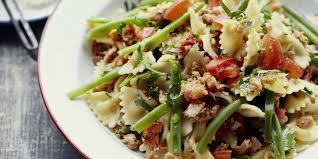 recette de pate au thon salade de pâtes au thon et au curry recettes femme actuelle