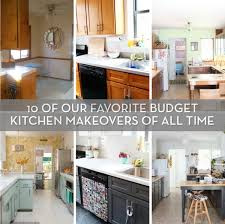 Our All Time Favorite Kitchen Roundup Our 10 Favorite Budget Kitchen Makeovers Of All