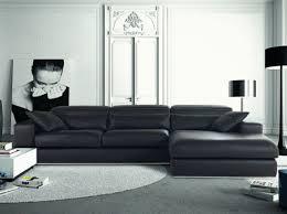 meubles canapé shopping notre sélection de 30 canapés d angle cuir noir angles