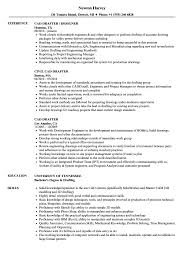 Download CAD Drafter Resume Sample As Image File