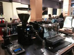 Wild Joes Coffee Spot Montanas Slow Bar Features Only Single Group Slayer Espresso Machine