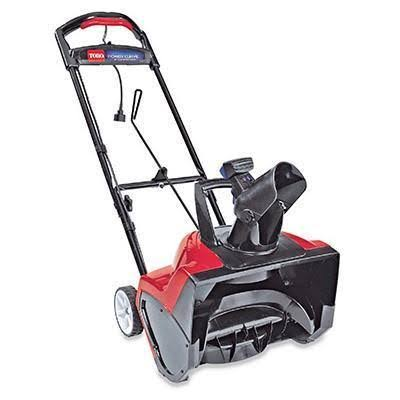 Toro Power Curve 38381 Electric Snow Blower - 18""