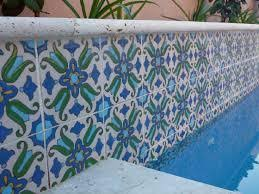 use bright beautiful decorative mexican pool tiles mexican tile