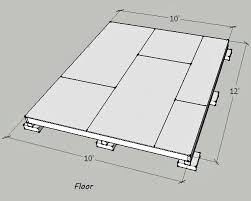 Floor Joist Spacing Shed by Shed Roof Without Ceiling Joists Building U0026 Construction Diy