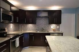 Kitchen Backsplash Ideas With Dark Wood Cabinets by Sensational Idea Kitchen Backsplash Ideas For Dark Cabinets