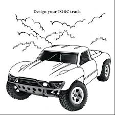 Printable Cars Coloring Pictures Disney Pages Free Impressive Race Truck Car Page