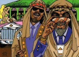 Arab Oil Sheikh
