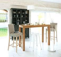 bar pour cuisine table haute de cuisine une table pour une ambiance bar dans la