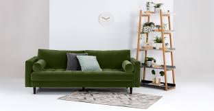 Tufted Velvet Sofa Furniture by Furniture Incredible Green Velvet Sofa For Home Furniture Ideas