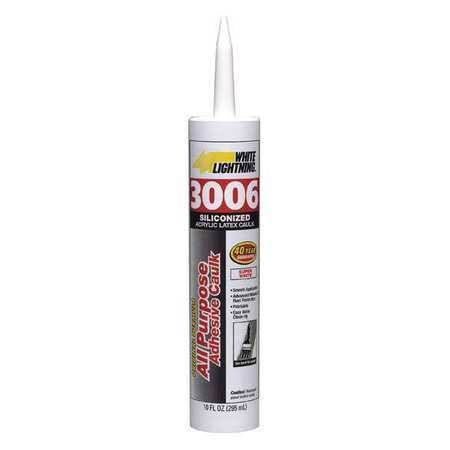White Lightning All Purpose Adhesive Caulk - White