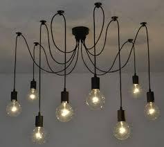 chandelier edison bulb pendant light kit bright edison bulbs
