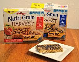 Breakfast Is Served With Nutri GrainR Fruit Oat Harvest Cereal Bars NGHarvest