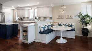 Kitchen Booth Seating Ideas by Kitchen Banquette Seating With Round Table Ideas Of Banquette