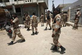siege army pakistan army claims air strike killed taliban leader karachi