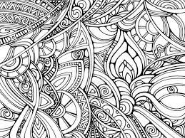 Trippy Coloring Pages Abstract