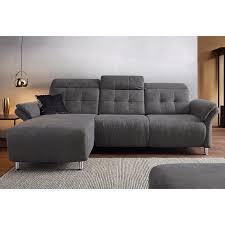 canapé d angle relax canapé d angle relax électrique tissu microfibre méridienne fixe à