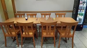 tischgarnitur aus restaurant 8 plätze kaufen auf ricardo