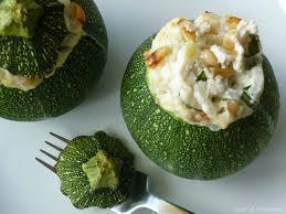 cuisiner courgette ronde courgettes rondes farcies à la ricotta goût allégresse
