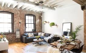 Industrial Living Room For Rustic Decorations 19