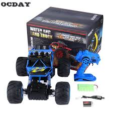 OCDAY RC Car 1:14 Water And Land Truck Big Rubber Tire Electric ... Bigfoot Cruiser Sport Mod Trigger King Rc Radio Controlled Remote Control Bigfoot Truck Blue New Bright Industrial Co Traxxas No1 Monster 110 Rtr Technokapgr Drones Playskool 1983 4x4 Monster Truck 80 S Retro Toy Sold Mz Cars All Terrain High Speed Vehicle Scale Road Rippers Outdoor Walmartcom Bfootopenhouseiggkingmonstertruckrace20 Big Squid 2016 Hot Sell Car 24g 116 Hsp Electric 4wd Offroad Model No 4x4 Traxxas Ripit Trucks Fancing