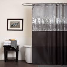 Lush Decor Velvet Curtains by Sunbrella Bay View Black Inch Outdoor Curtain Panel Idolza