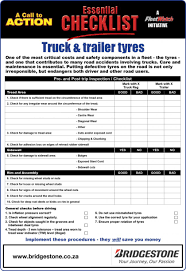 100 Truck Pre Trip Inspection Checklist Self Test Cdl College Cl Roomofalice