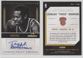 2013 Panini Pinnacle Autographs #128 Leonard Truck Robinson New York ... Leonard Truck And Trailer Competitors Revenue And Employees Owler A Pumper Shares 10 Tips For Buying The Right Vacuum St Volunteer Fire Department Tanker Buildings Accsories Google Cstruction Trailers Figtree Birthday Boys Garbo Truck Surprise Illawarra Mercury Bull Bars Covers Caps Camper Tops Blacksburg Va Storage Sheds Fournettes Top Jobs Ranked 101 Nolacom Robinson Autographed Inoutdoor Basketball Steel Frame Metal Utility Pilot Roof